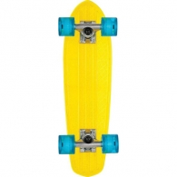 Globe Bantam Clear Yellow/Raw/Blue