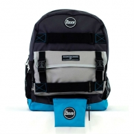 Penny Pouch Black/Blue/Grey
